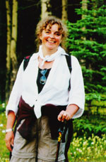 Marian Botsford Fraser at Banff Cultural Journalism programme, July, 2001